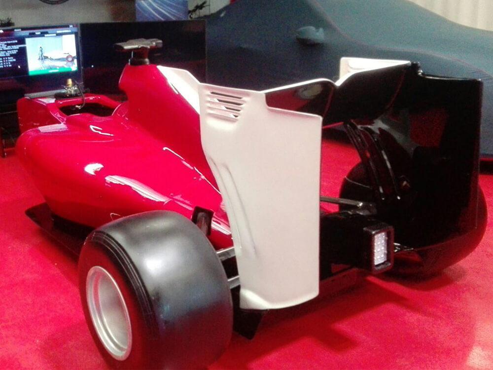 F1 Statik Simülatör ( 3/4 Boy )