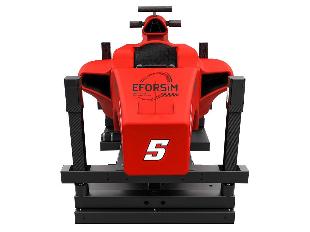 F1 Kokpit Hareketli Simülatör ( Yarım Boy )