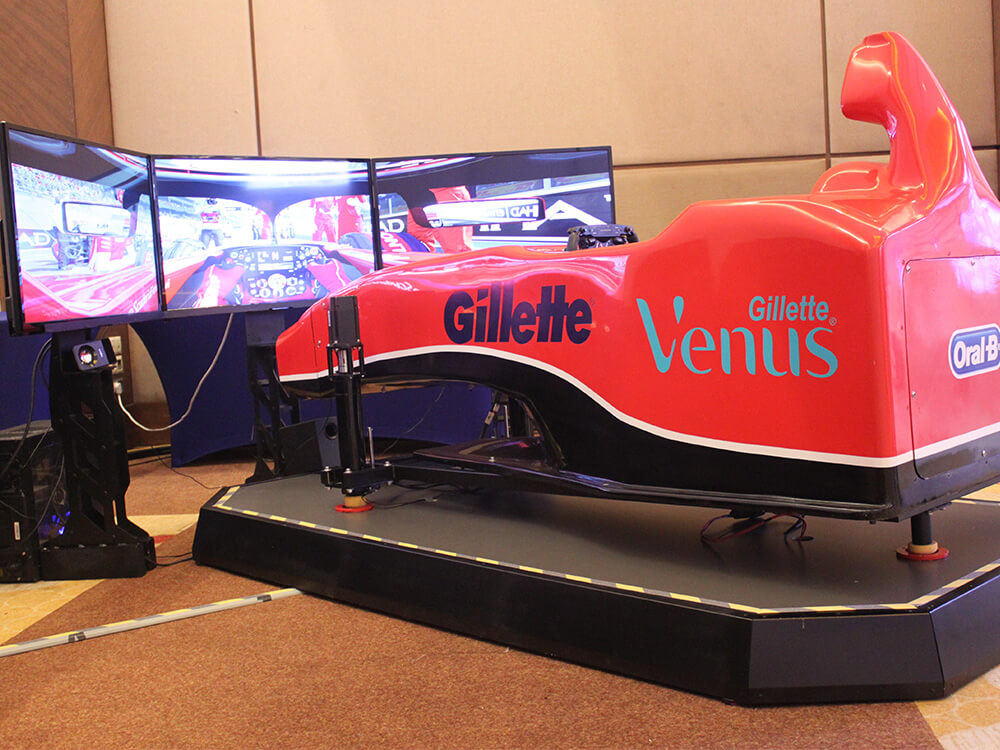 F1 Cockpit Motion Simulator