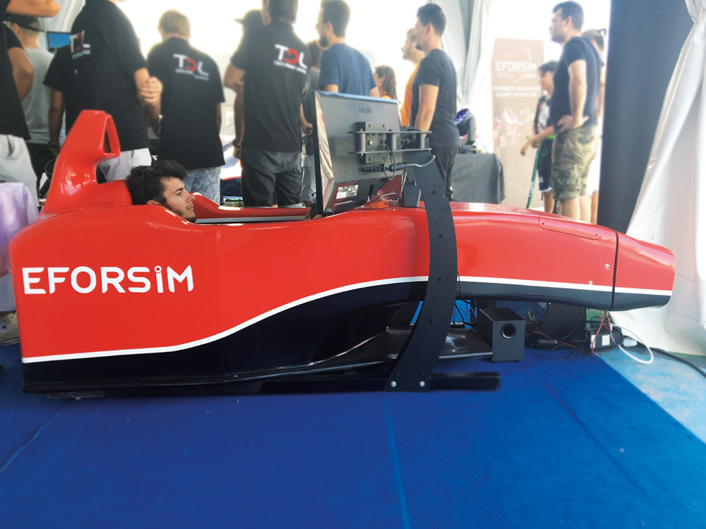 F1 Kokpit Statik Simülatör