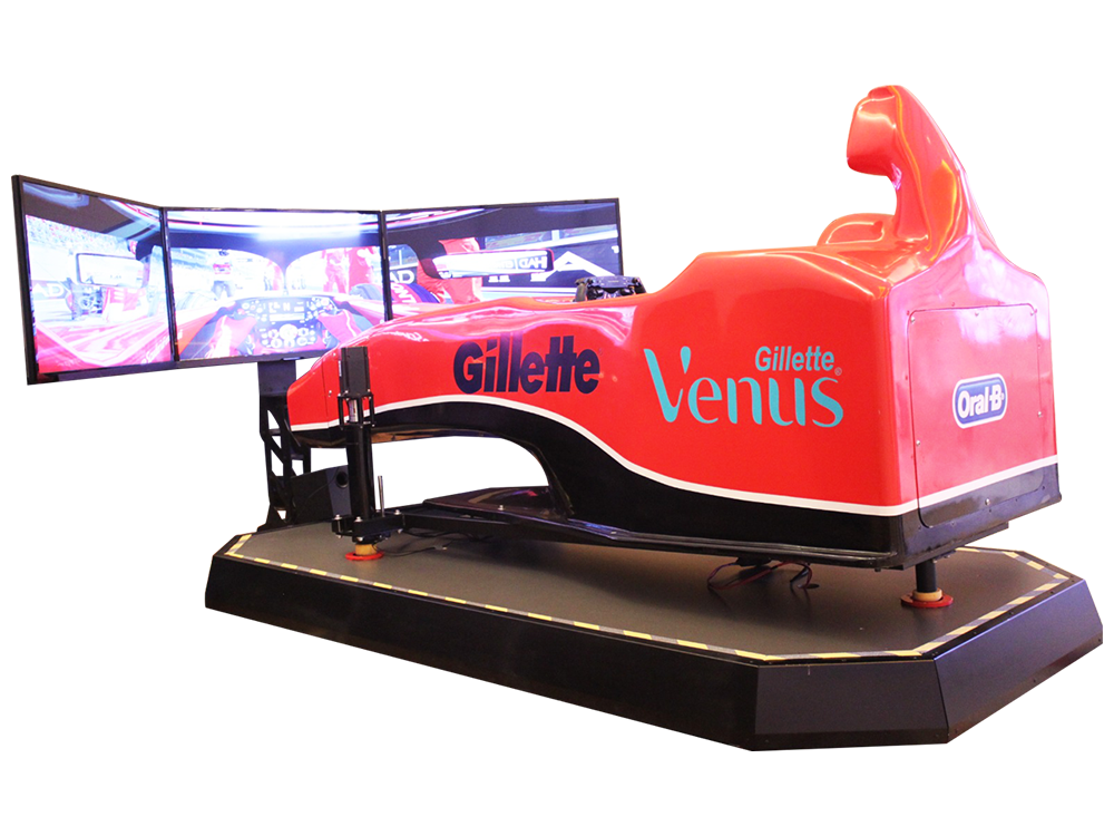 F1 Cockpit Motion Simulator