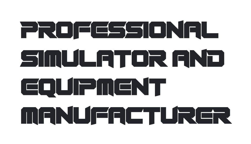 Professional Simulator and Equipment Manufacturer